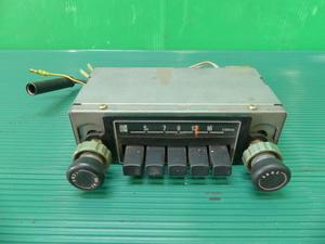 ライフ SA 純正 ラジオ CR-267 当時物 旧車 ホンダ ステップバン Z360 29572 QA36