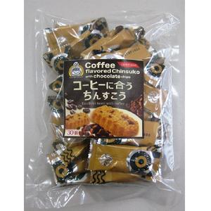 沖縄 お土産 珍品堂のちんすこう コーヒーに合うちんすこう 中袋 30個入り 宅配便コンパクト対応