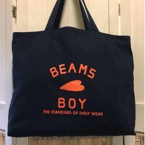 【BEAMS BOY】 BEAMS BOY / BB ロゴ TOTE BAG