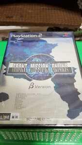 PS2 プレステ2 PlayStation2 ソフト フロントミッション オンライン FRONT MISSION ONLINE 未開封品!