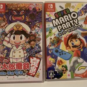 新品 桃太郎電鉄、スーパーマリオパーティー 2本セット 桃鉄 マリパ ニンテンドースイッチ Nintendo Switch