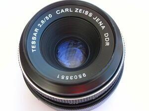 CARL ZEISS DDR TESSAR F2.8 50mm M42マウント