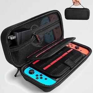 好評 新品 ケ-ス Switch用 P-1S スイッチ ケ-ス キャリングケ-ス保護カバ- 収納バッグ キャリングケ-ス 防塵 防汚 耐衝撃