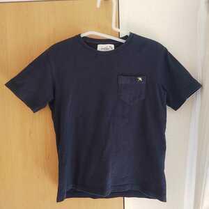 アーノルドパーマー 半袖Tシャツ ネイビー 紺 XS 9号 格安 ポケットTシャツ レディース クラシックスタイル