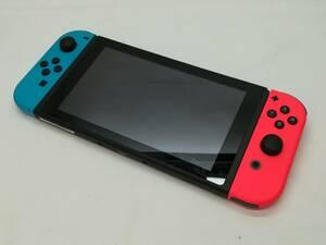 【じゃんぱら神保町店】Nintendo Switch 本体 Joy-Con(L) ネオンブルー/(R) ネオンレッド HAD-S-KABAA 【2019年8月】