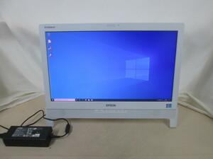 EPSON Endeavor PT100E Core i7 3770S 3.1GHz 4GB 500GB DVDマルチ Win10 64bit Office USB3.0 HDMI [80219]
