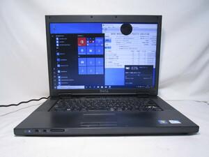 DELL Vostro 1520 Celeron 900 2.2GHz 4GB 160GB 15.6インチ DVD作成 Win10 64bit Office Wi-Fi [80238]
