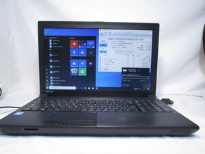東芝 dynabook Satellite B453/M Celeron 1005M 1.9GHz 4GB 320GB 15.6インチ DVDマルチ Win10 64bit Office USB3.0 Wi-Fi [80246]