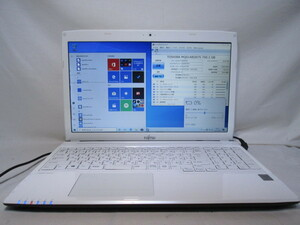 富士通 FMV LIFEBOOK AH42/M Pentium 3556U 1.7GHz 4GB 750GB 15.6インチ DVDマルチ Win10 64bit Office USB3.0 Wi-Fi HDMI [80264]