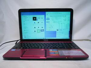 東芝 dynabook T552/47GRS Core i7 3630QM 2.4GHz 4GB 750GB 15.6型 DVD作成 ブルーレイ Win10 64bit Office USB3.0 Wi-Fi HDMI [80300]