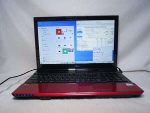 富士通 FMV LIFEBOOK AH42/J Pentium B980 2.4GHz 4GB 750GB 15.6インチ DVDマルチ Win10 64bit Office USB3.0 Wi-Fi HDMI [80304]