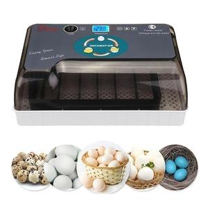 新品 あひる ウズラ AT8676 温度制御 孵化 インキュベーター ガチョウ 自動培養器 鴨 12個 デジタル 自BL87