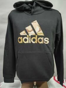 アディダス adidas サッカーウェア フットサルウェア スウェットパーカー カジュアル 上下セット GV2126/2125 BLACK(ブラック) Lサイズ