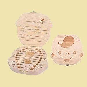 大人気 新品 未使用 木製 乳歯ケ-ス P-K5 記念品 (男の子) 乳歯入れ 日本語版 男の子/女の子 ベビ-トゥ-ス 子供 歯 保管 収納