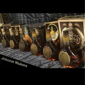 古酒飲み比べ6本セット ジョニーウォーカー ウイスキー ウィスキー swing スウィング スイング スコッチ 箱付き
