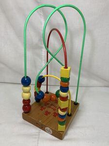 ルーピング【EDUCO】ED9720/BEAR HUG/カナダ製/乳児/幼児/知育/玩具/おもちゃ/木製/ビーズコースター