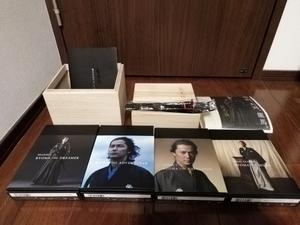 ★送料無料★龍馬伝 DVD-BOX 初回限定版 桐箱 家紋入り刀箸 ブックレット 特典完備