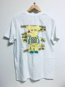off white kaws Tシャツ サイズ XL 新品 Tシャツ 、、
