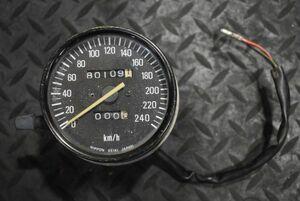 当時物 純正 Z650 Z750FX 2型 3型 スピードメーター 0033 検) ザッパー 750FX Z1 Z2 750RS
