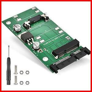 ★特価★高排熱性 6Gbps 3.0 SATAコンバーター 2.5インチ to NAJAIA Mini-SATA 30x50mm アダプター 変換 SATA mSATA ELUTENG