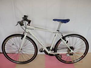 ★ 1円~【TIGORA】 ※ 軽快MTB 24段 白色 中古 自転車 引き取り可能 (N017)ジェクト