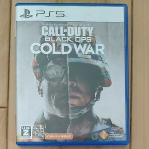 PS5 CALL OF DUTY: BLack Ops COLD WAR (コールオブデューティ)
