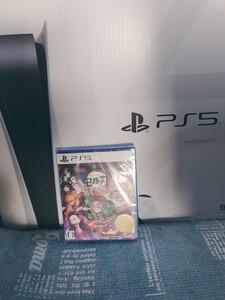 PS5 本体 鬼滅の刃 ソフト セット