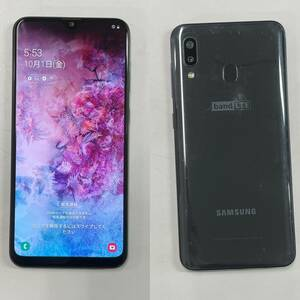 [中古品] 海外版SIMフリー Galaxy Wide4 Black SM-A205S(Galaxy A20同等品)送料無料