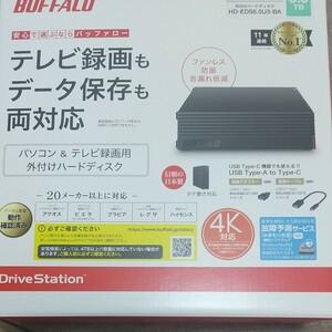 BUFFALO 外付けハードディスク HD-EDS6.0U3-BA