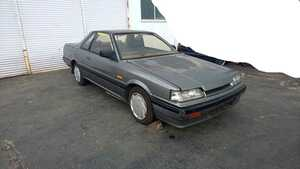 Nissan Skyline HR31 GTS F5 speed Nissan NISSAN 2 door coupe Showa era old car Neo Classic iron mask group A RS turbo