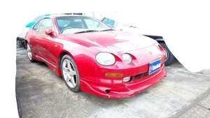 rare Toyota Celica ST202 document equipped AT aero TOYOTA previous term original front bumper exterior Rally ST205 4WD GT-FOUR ST203 dirt