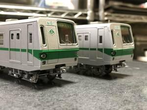 【HO】元営団地下鉄6000系2次試作車 非冷房 6両ペーパーキット(床下機器付き)
