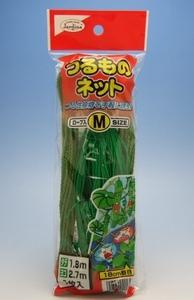 緑のカーテン きゅうり ゴーヤに つるものネットM1.8x2.7m