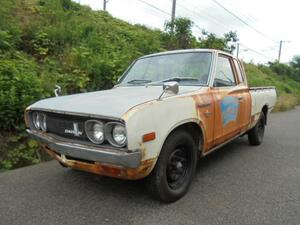 * rare * 620 Datsun Truck king cab present condition GN620 DATSUN TRUCK KGN620 floor 4 speed MT with translation
