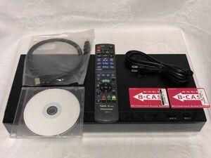 【動作確認OK】Panasonic DMR-BRX4020 ブルーレイレコーダー リモコン 取説 B-CASカード HDMIケーブル '16年製