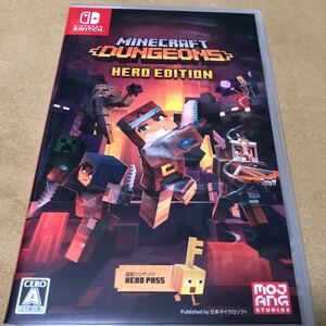マインクラフトダンジョンズ ヒーロー Edition Switch Minecraft