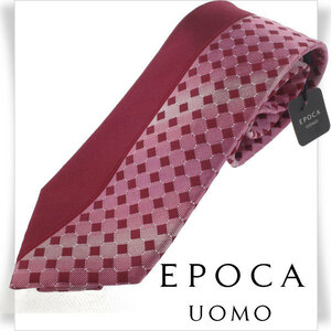 新品1円~★エポカ ウォモ EPOCA UOMO シルク絹100% ネクタイ/日本製 正規店本物 ◆3351◆