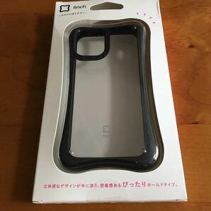 iPhone12mini ハイブリッド ケース 5.4  ぴったり クリアブラック