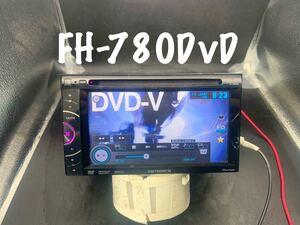 即決◆carrozzeria カロッツェリア 6.1V型ワイドVGAモニター/DVD-V/VCD/CD/USB/チューナー FH-780DVD◆