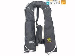 まるま MARUMA 自動膨張 ライフジャケット 美品