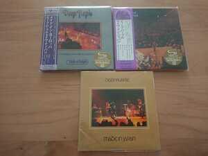 ★ディープ・パープル Deep Purple ★ライヴ・イン・ジャパン Live in Japan 国内盤 帯付 ★3紙ジャケCD ★未開封