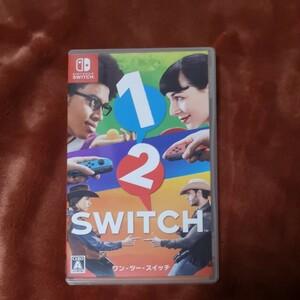 Nintendo Switch ニンテンドースイッチソフト ワンツースイッチ 1-2-Switch 任天堂