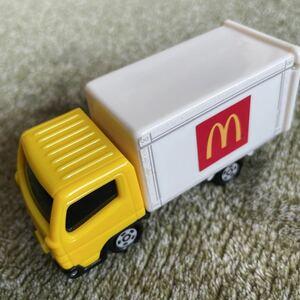 ハッピーセット トミカ 2014 三菱ふそう キャンター トラック はとらく車 ミニカー マクドナルド おまけ マック 中古