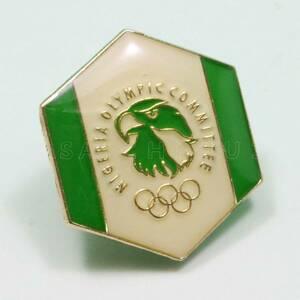 【東京オリンピック 2020】非売品 限定 ナイジェリア代表選手団 公式ピンバッジ/記念グッズ/NOC/選手村/送料無料♪TOKYO OLYMPIC 2020★