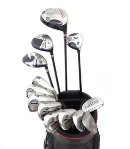 YONEX Callaway ODYSSEY ゴルフクラブセット 1w/4w/5Fw/7UT/ 5.6.7.8.9.A.P ドライバー/アイアン/ウェッジ/パター 13本 キャディバッグ付