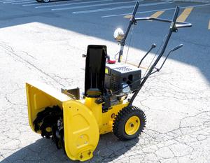 千歳市/恵庭市 近郊配送/引取限定 HAIGE ハイガー セル付き 4サイクルエンジン 除雪機 HG-6560B 212cc 要整備