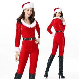 レディース ズボン サンタコスチューム クリスマス コスプレ衣装の商品画像