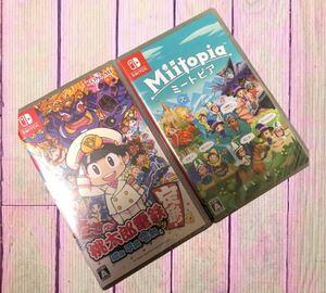 【新品送料込み】Nintendo Switch 桃太郎電鉄 & ミートピア 2本セット