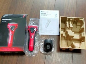 Panasonic パナソニック メンズシェーバー ES-RL13 赤 電気シェーバー