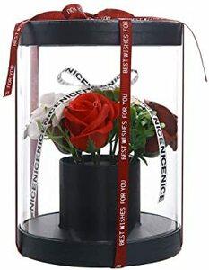 ブラック ギフト バラ 枯れない花 誕生日 敬老の日結婚祝い 結婚記念日 バレンタインデー 入学 卒業 昇進 転居 新築お祝い
